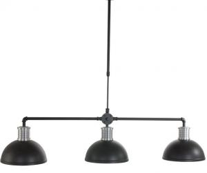 Moderne drielichts hanglamp industrieel
