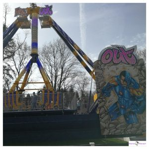 Freak out attractie in Drouwenzand